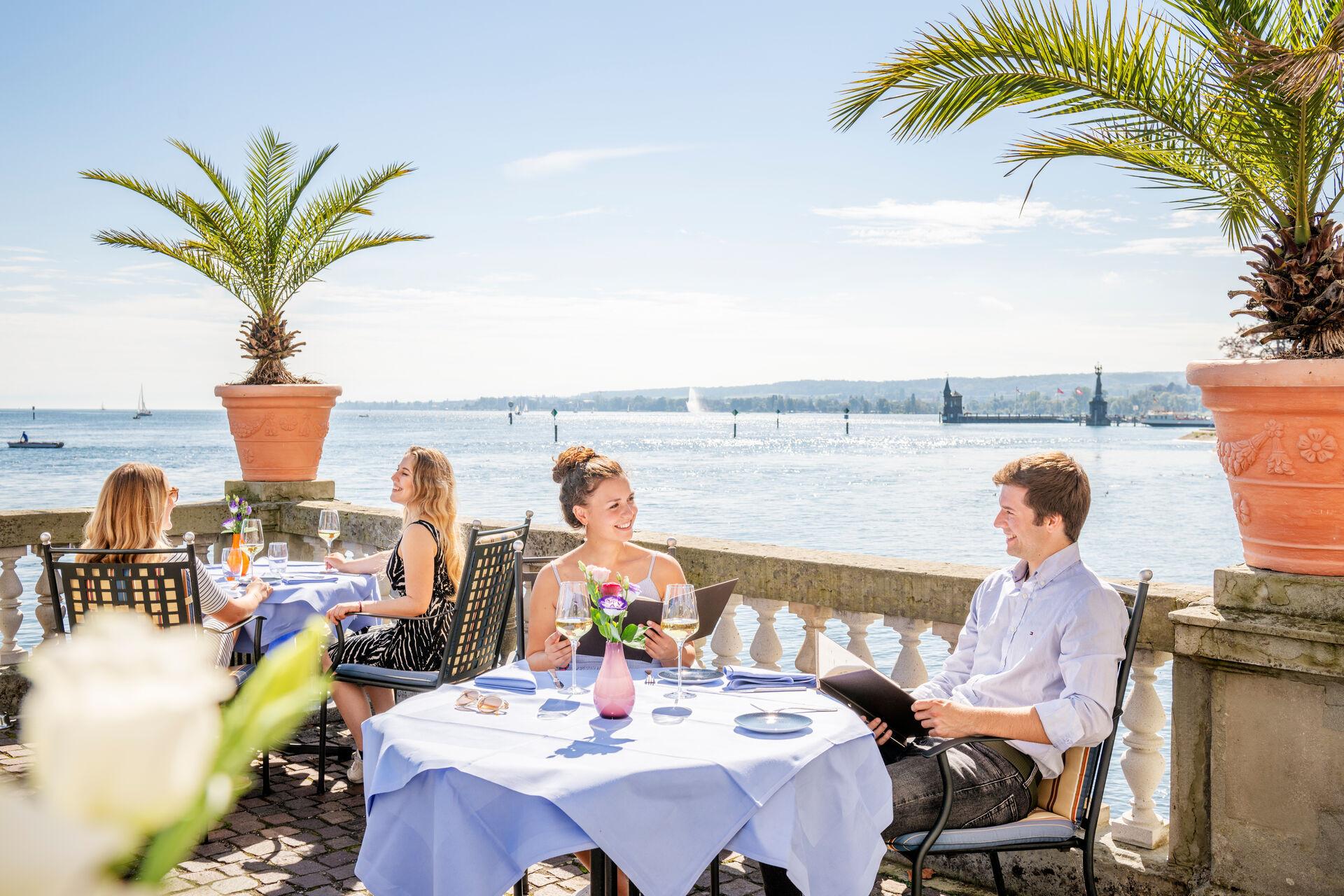 Konstanz-Gastronomie-Steigenberger-Terasse-Dinner-04_Spaetsommer_Copyright_MTK-Dagmar-Schwelle