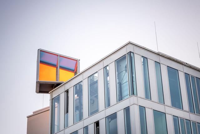 Konstanz-Hochschule-HTWG-Gebaeude-L_Kommunikationsdesign-Lichtraum-Architektur_Spaetsommer_Copyright_MTK-Dagmar-Schwelle